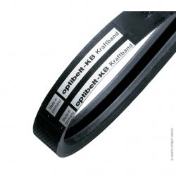 Courroie Trapézoïdale Jumelée 3-SPZ 1500- Optibelt KB - 3 Brins