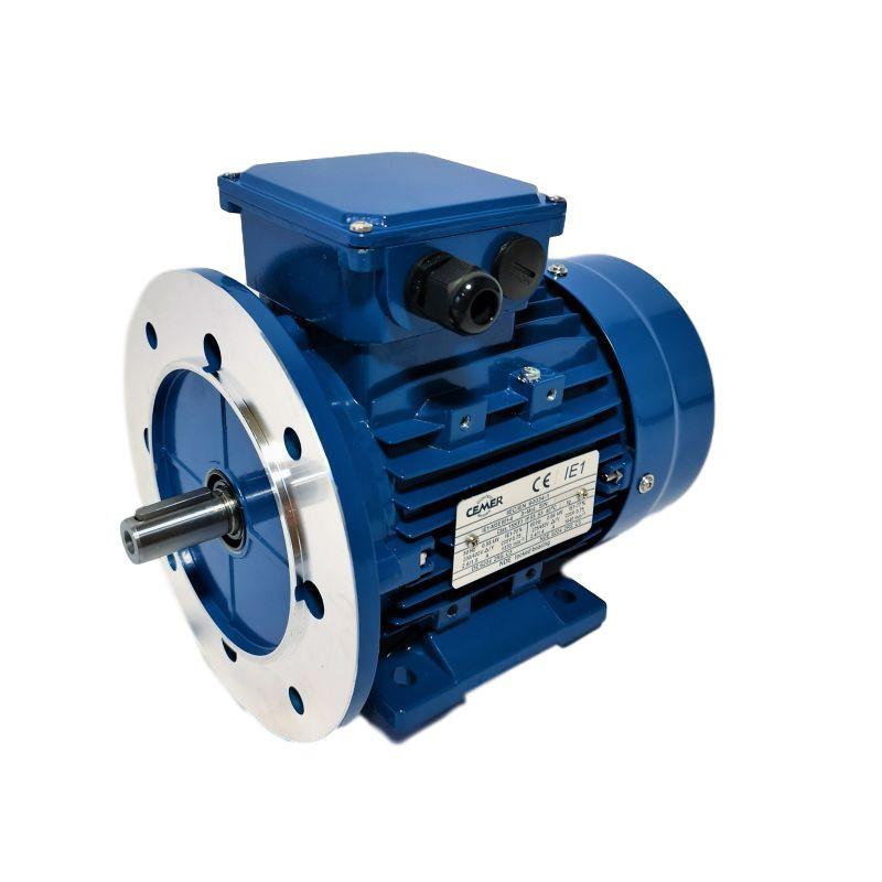 Moteur électrique triphasé 0.12 kw - 3000 Tr/min - B35 - 230/400V - Cemer