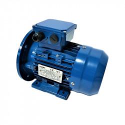 Moteur électrique triphasé 1.1kw - 1500Tr/min - 80 B35 - 230/400V - Cemer