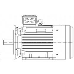 Moteur électrique triphasé 22kw - 3000tr/min - B35 - 400/690 - IE3 - Cemer