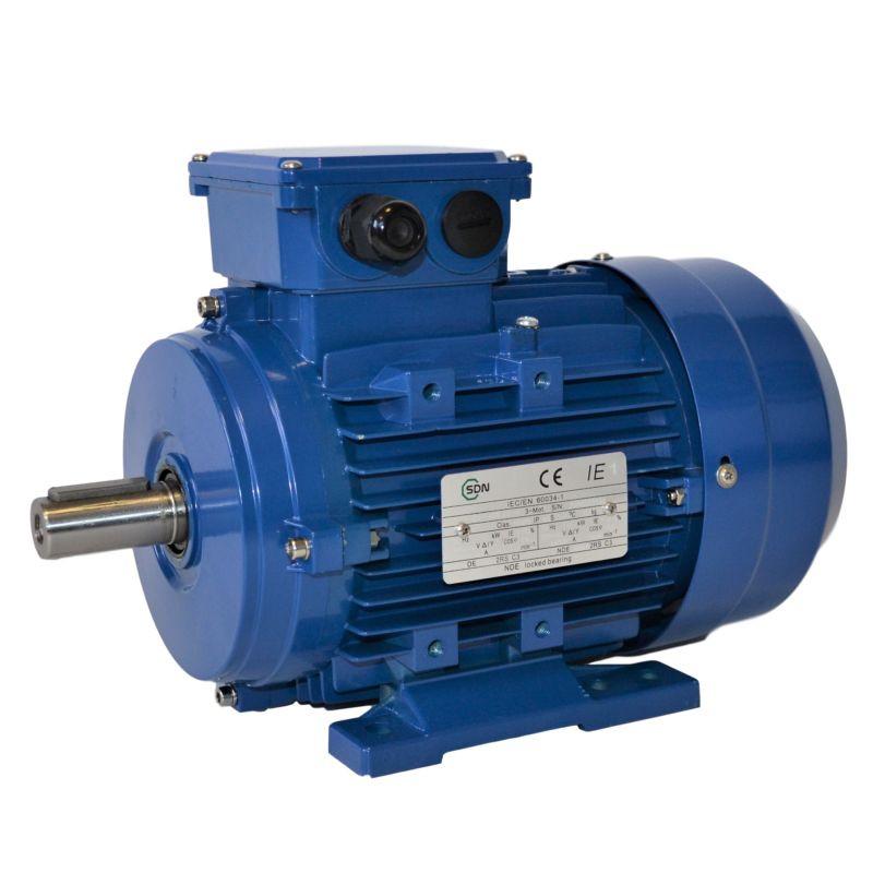 Moteur électrique triphasé 0.18kw-1000tr/min- B3-230/400V - Cemer