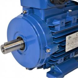 Moteur électrique triphasé 1.1kw - 1500Tr/min - 80 B3 - 230/400V - Cemer