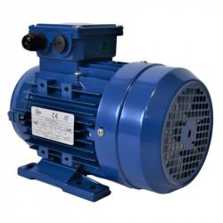 Moteur électrique triphasé 1.5 kw - 3000Tr/min - 80 IMB3 - 230/400V - IE1 - Cemer
