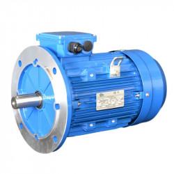 Moteur électrique 0.37KW - 1500Tr/min, Fixation B5 Réduite 140x115x95-Triphasé 230/400V