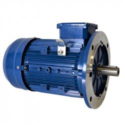 Moteur électrique triphasé 4Kw - 230/400V - 1500Tr/min - 100B5 - Cemer