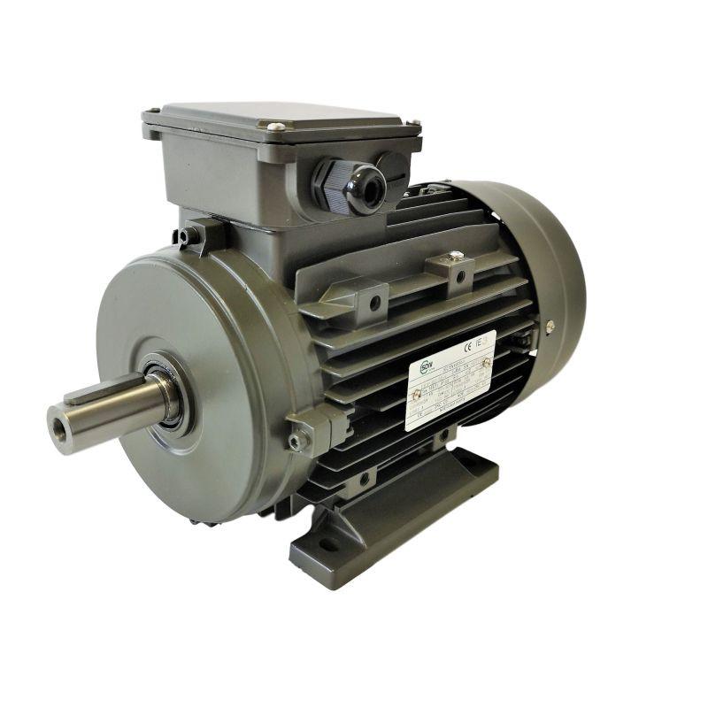 Moteur électrique 7.5KW Triphasé 400/690V - 950Tr/min, Fixation à pattes B3