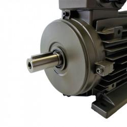 Moteur électrique 1.1Kw Triphasé 230/400V - 1000T/min Fixation à pattes B3