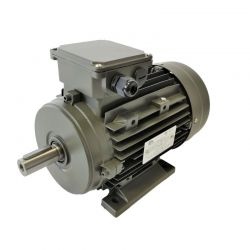 Moteur électrique triphasé 7.5 kw - 3000 Tr/min - pattes B3 - 400/690v - Cemer - Ie3