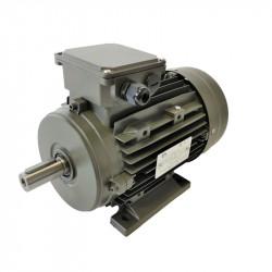 Moteur électrique 4kw - 1500Tr/min - Triphasé 230/400V - à pattes B3