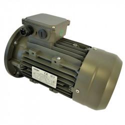 Moteur électrique triphasé 0.75 kw - 1500 Tr/min - bride B5 - 230/400V - Cemer - IE3
