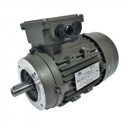 Moteur électrique triphasé 0.75 KW – 230/400V – 1500Tr/min – Bride B14 – IE3