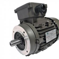 Moteur électrique 1.1KW Triphasé 230/400V - 920Tr/min, Fixation à bride B14