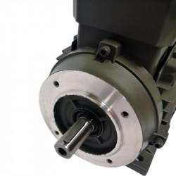 Moteur électrique 1.1KW Triphasé 230/400V - 920Tr/min, Fixation à pattes et bride B34