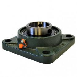 Palier UCF 202 Diamètre d'arbre 15mm, Auto-Aligneur-Palier Carré Fonte