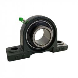 Palier UCP 202 à semelle Fonte, Diamètre 15mm, Norme japonaise-Autoaligneur