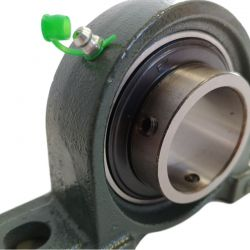 Palier UCP 206 à semelle Fonte, Diamètre 30mm, Norme japonaise-Autoaligneur