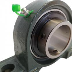 Palier UCP 211 à semelle Fonte, Diamètre 55mm, Norme japonaise-Autoaligneur
