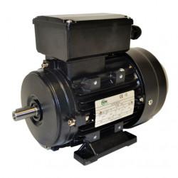 Moteur électrique monophasé 1.1kw - 230v - 3000tr/min - B3 - un condensateur