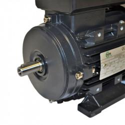 Moteur électrique monophasé 0.55kw - 230v - 3000tr/min - B3 - un condensateur