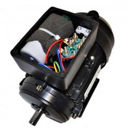 Moteur électrique monophasé 0.37kw 230V - 1000tr/min Fixation à pattes B3