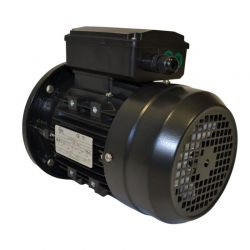 Moteur électrique monophasé 0.25 Kw - 1500 Tr/min - B5 - 230V - un condensateur