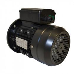 Moteur électrique monophasé 0.75 Kw - 1500 Tr/min - B5 - 230V - un condensateur