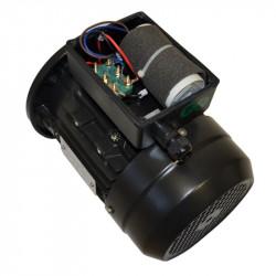 Moteur électrique monophasé 0.12 Kw - 3000tr/min - B5 - un condensateur