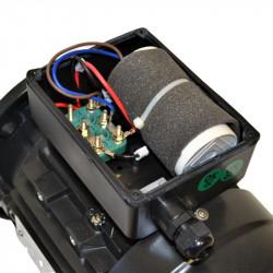 Moteur électrique monophasé 0.09 Kw - 1500 Tr/min - B5 - 230V - un condensateur