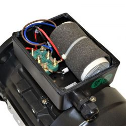 Moteur électrique monophasé 0.18 Kw - 0.25Cv - 1000 Tr/min - Bride B5 - 230V