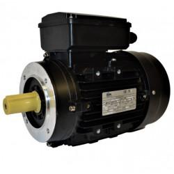 Moteur électrique monophasé 1.1kw - 1500 tr/min - B14 - Un condensateur