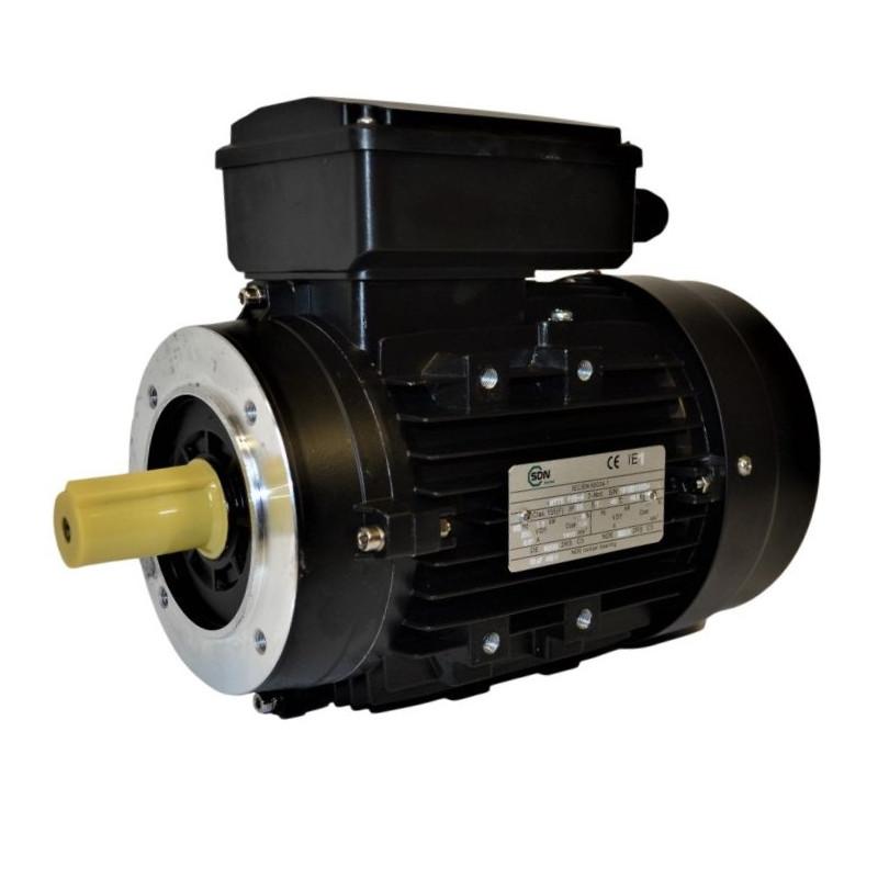 Moteur électrique monophasé 1.5kw - 1500 tr/min - B14 - Un condensateur