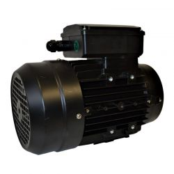 Moteur électrique monophasé 0.25 Kw - 3000 tr/min - B14 - Un condensateur