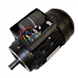 Moteur électrique monophasé 0.55 Kw - 3000 tr/min - B14 - Un condensateur