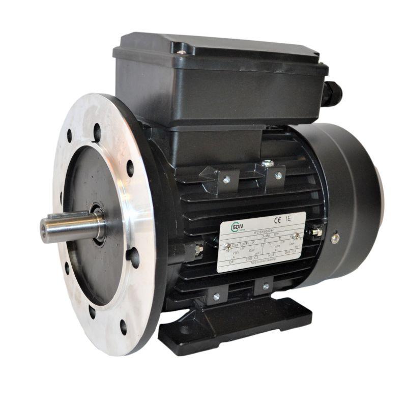 Moteur électrique monophasé, 0.09KW-230V-1500Tr/min-B35