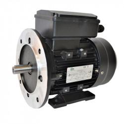 Moteur électrique monophasé, 0.37KW-230V-1000Tr/min- à Pattes et Bride Trous Lisses B35