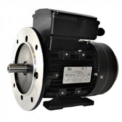 Moteur électrique monophasé, 0.75KW-230V-1000Tr/min- à Pattes et Bride Trous Lisses B35