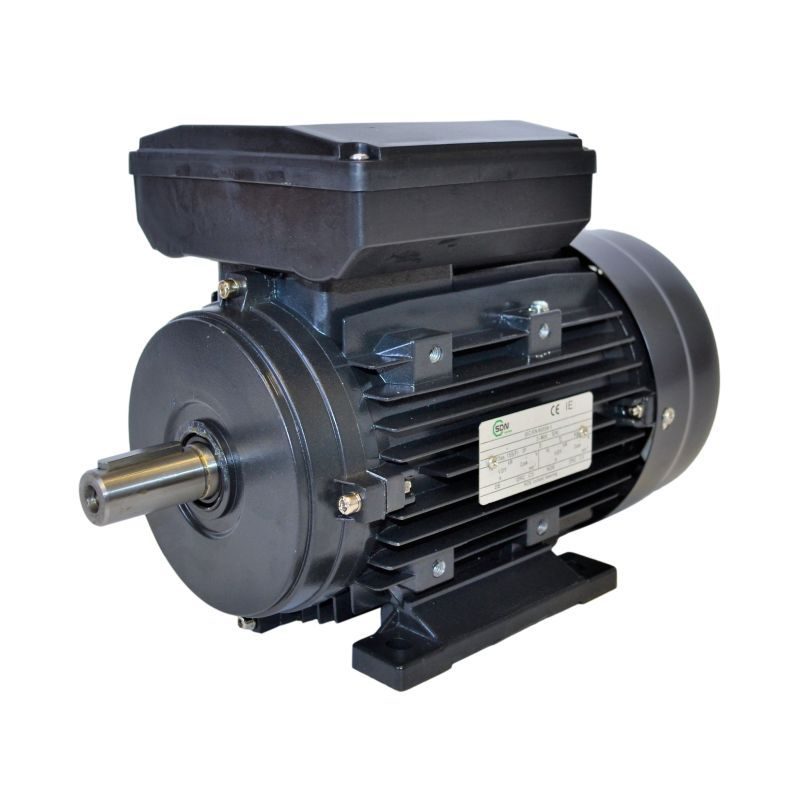 Moteur électrique monophasé 1.1Kw – 1.5Cv – 3000tr/min – 230V – à double condensateur – à pattes B3 - CEMER
