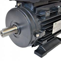 Moteur électrique monophasé 0.12Kw – 0.25Cv – 1500tr/min – 230V – à double condensateur – à pattes B3 - CEMER
