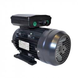Moteur électrique monophasé 0.25Kw – 0.33Cv – 1500tr/min – 230V – à double condensateur – à pattes B3 - CEMER
