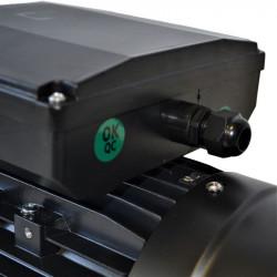 Moteur électrique monophasé 0.75Kw - 3000tr/min - B5 - 230v - double condensateur