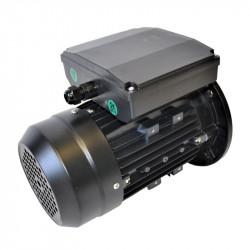Moteur électrique monophasé 0.25kw - 3000tr/min - B5 - 230v - double condensateur