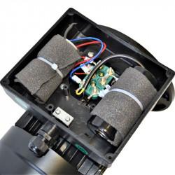 Moteur monophasé à double condensateur 0.18KW 230V - 1500tr/min Fixation Bride B5