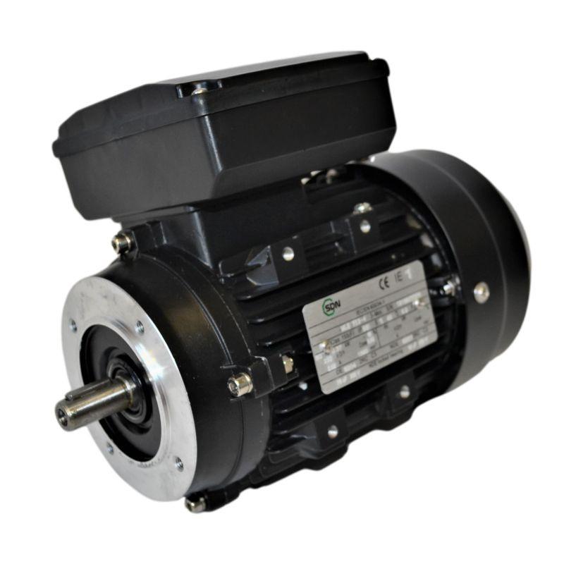 Moteur électrique monophasé 1.1Kw - 3000tr/min - B14 - 230v - double condensateur