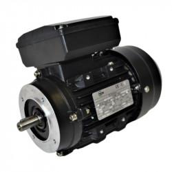 Moteur monophasé 3Kw double condensateur 230V - 1500tr/min Fixation bride B14