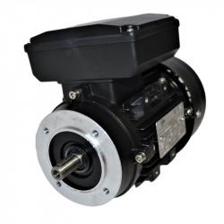Moteur monophasé 0.25Kw double condensateur 230V - 1500tr/min Fixation bride B14