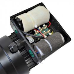 Moteur monophasé 0.12Kw double condensateur 230V - 1500tr/min Fixation bride B14