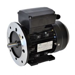 Moteur monophasé à double condensateur 0.25KW 230V - 1500tr/min Fixation Bride et Pattes B35