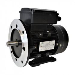 Moteur monophasé à double condensateur 1.1KW 230V - 1500tr/min Fixation Bride et Pattes B35