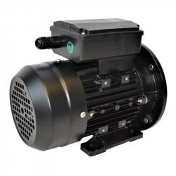 Moteur monophasé à double condensateur 0.75KW 230V - 1500tr/min Fixation Bride et Pattes B35