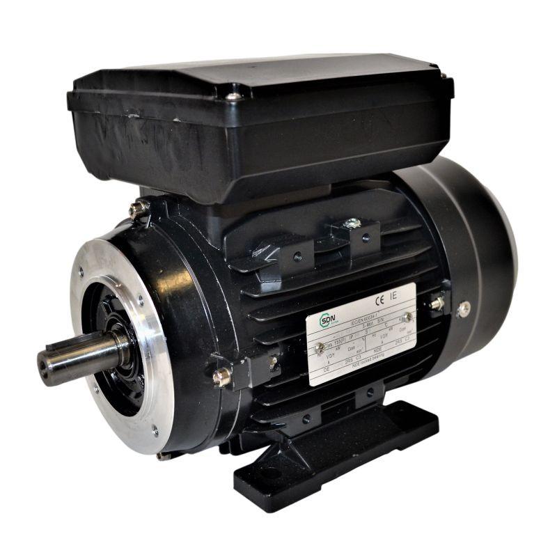 Moteur électrique monophasé 0.75kw - 3000tr/min - B34 - 230v - double condensateur